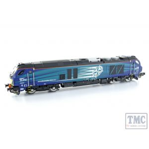2D-022-011D Dapol N Gauge Class 68 034 DRS Compass (DCC-Fitted)