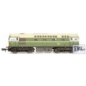 2D-028-002 Dapol N Gauge Class 26 D5310 BR Green Small Yellow Panels