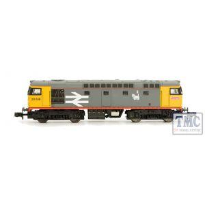 2D-028-004 Dapol N Gauge Class 26 037 BR Railfreight Red Stripe