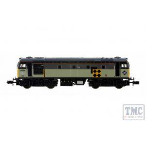 2D-028-005 Dapol N Gauge Class 26 004 BR Railfreight Coal