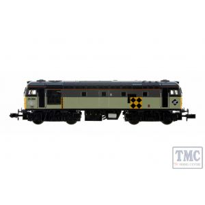 2D-028-005D Dapol N Gauge Class 26 004 BR Railfreight Coal (DCC-Fitted)