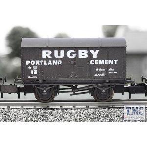 2F-013-011 Dapol N Gauge Gunpowder Van Rugby Cement
