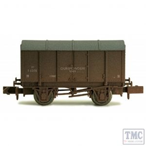 2F-013-030 Dapol N Gauge Gunpowder Van SR 62136 Weathered