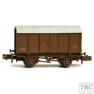 2F-013-036 Dapol N Gauge Gunpowder Van BR M701059 Weathered