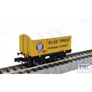 2F-013-045 Dapol N Gauge Gunpowder Van Blue Circle 146