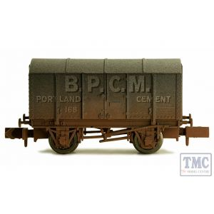 2F-013-048 Dapol N Gauge Gunpowder Van BPCM 168 Weathered