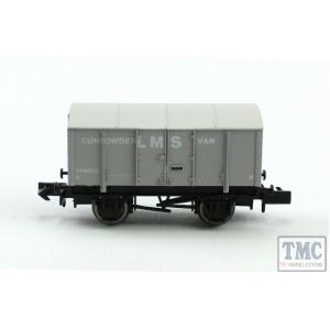 2F-013-049 Dapol N Gauge Gunpowder Van LMS 299035