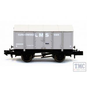 2F-013-051 Dapol N Gauge Gunpowder Van LMS 299039