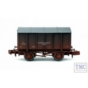 2F-013-052 Dapol N Gauge Gunpowder Van LMS 299039 Weathered