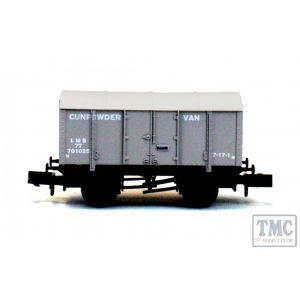 2F-013-053 Dapol N Gauge Gunpowder Van LMS 701025