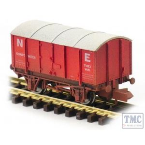 2F-013-056 Dapol N Gauge Gunpowder Van NE 71422 Weathered
