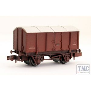 2F-013-060 Dapol N Gauge Gunpowder Van BR M701055 Weathered