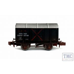 2F-013-064 Dapol N Gauge Gunpowder Van SR Improvised GPV 59060 Weathered