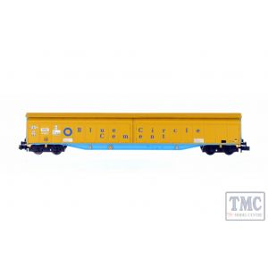 2F-022-010 Dapol N Gauge Ferry Wagon Blue Circle 3380 279 7688-9