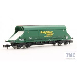 2F-026-002 Dapol N Gauge HIAFreightliner Heavy Haul Hopper Green 369052
