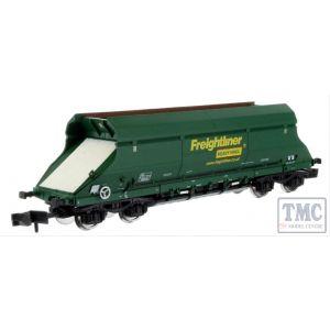 2F-026-008 Dapol N Gauge Hopper Freightliner Heavy Haul Green 369013