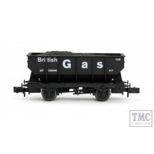 2F-034-043 Dapol N Gauge 21T Hopper British Gas 145