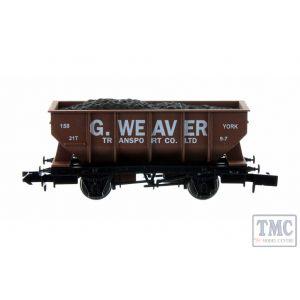 2F-034-065 Dapol N Gauge 21t Hopper G Weaver Bauxite 158