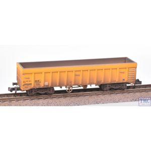 2F-045-007 Dapol N Gauge IOA Ballast Wagon Network Rail Yellow 3170 5992 065-6