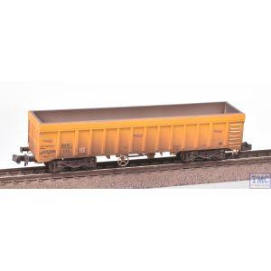 2F-045-008 Dapol N Gauge IOA Ballast Wagon Network Rail Yellow 3170 5992 081-3