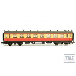 2P-000-034 Dapol N Gauge Collett Coach BR Crimson/Cream Composite W7026