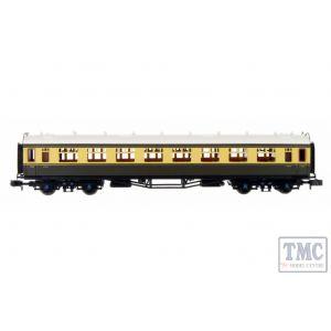2P-000-080 Dapol N Gauge Collett Coach BR Chocolate/Cream Composite W7019