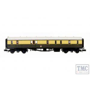 2P-000-310 Dapol N Gauge Collett Coach GWR Crest Chocolate/Cream Full Brake 101
