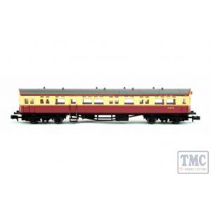 2P-004-012 Dapol N Gauge Autocoach BR Carmine & Cream W189W no insignia