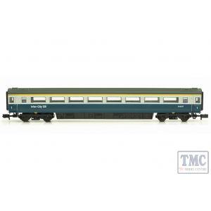2P-005-021 Dapol N Gauge MK 3 Blue Grey 2nd Class E42127 HST
