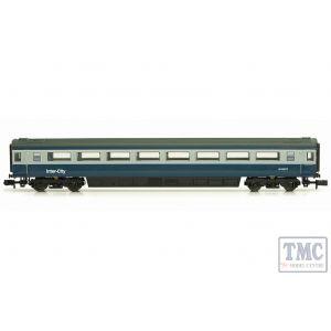 2P-005-033 Dapol N Gauge MK 3 Blue Grey 2nd Class 12057 Loco Hauled