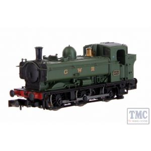2S-007-022 Dapol N Gauge Pannier Late Cab 6752 GWR Lettered Green