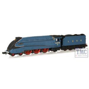 2S-008-008 Dapol N Gauge A4 Valanced Mallard 4468 Garter Blue LNER