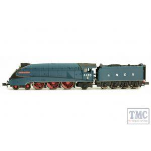 2S-008-009 Dapol N Gauge A4 Valanced Empire of India 4490Garter Blue LNER