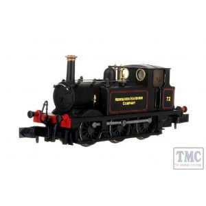2S-012-016 Dapol N Gauge Terrier A1X 72 'Newhaven Harbour Company' Lined Black
