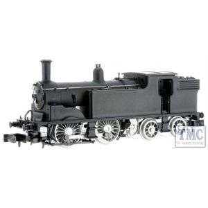 2S-016-010 Dapol N Gauge *M7 0-4-4 Tank 30673 BR Early Crest Lined Black