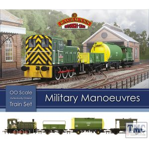 30-130 Bachmann OO Gauge Military Manoeuvres Train Set