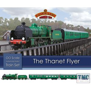 30-165 Bachmann OO Gauge The Thanet Flyer Train Set