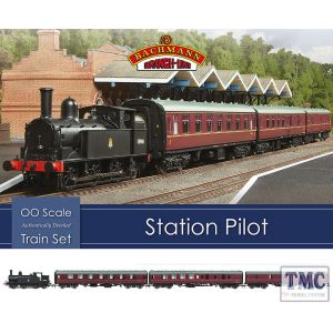 30-180 Bachmann OO Gauge Station Pilot Train Set