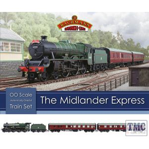 30-285 Bachmann OO Gauge The Midlander Express Train Set