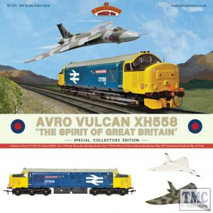 30-375 Bachmann OO Gauge Avro Vulcan XH558 Train Pack