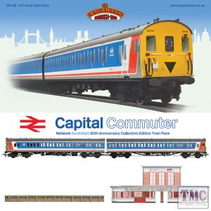 30-430 Bachmann OO Gauge Capital Commuter Train Pack