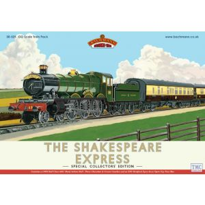 30-525 Bachmann OO Gauge The Shakespeare Express Train Pack