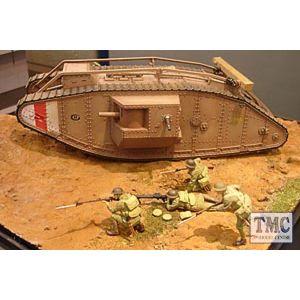 30057 Tamiya 1:35 Scale WWI British Mk IV Tank Male with motor