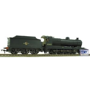 31-001 Bachmann Robinson 04 BR Black 63601 Late Crest Weathered by TMC