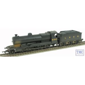 31-003 Bachmann OO/HO Robinson ROD 2-8-0 Class 04 LNER Black 6190 Weathered by TMC