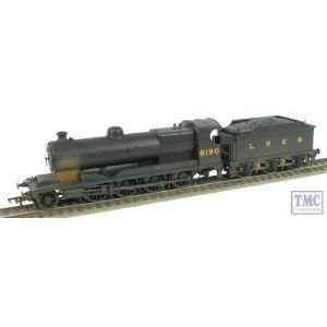 31-003 Bachmann OO/HO Robinson ROD 2-8-0 Class 04 LNER Black 6190 Weathered by TMC