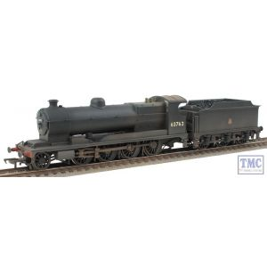 31-004A Bachmann OO Gauge Robinson Class O4 63762 BR Black Early Emblem Real Coal & Weathered by TMC