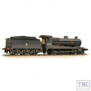 31-004A Bachmann OO Gauge LNER Robinson O4 63762 BR Black (Early Emblem) - Weathered