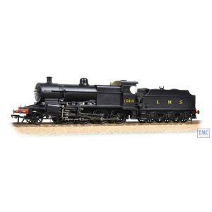 31-015 Bachmann OO Gauge S&DJR 7F 13810 LMS Black (Original)
