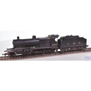 31-015 Bachmann OO Gauge S&DJR Class 7F 2-8-0 Loco 13810 LMS Black (Original) Real Coal & Weathered by TMC